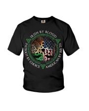 Irish by blood patriot by choice American Tree  Youth T-Shirt thumbnail