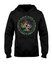 Irish by blood patriot by choice American Tree  Hooded Sweatshirt thumbnail