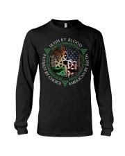 Irish by blood patriot by choice American Tree  Long Sleeve Tee thumbnail