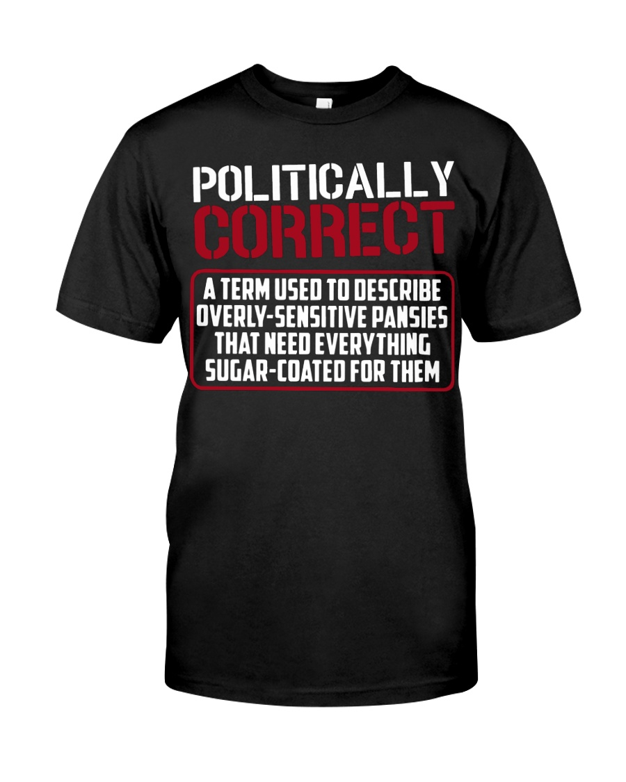 Politically Correct a term used to describe- Classic T-Shirt
