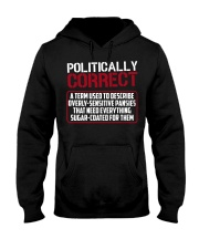 Politically Correct a term used to describe- Hooded Sweatshirt thumbnail