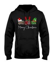 Photographer plaid Merry Christmas Hooded Sweatshirt thumbnail