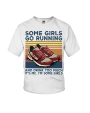 Running Some Girls Go Running SHIRT Youth T-Shirt thumbnail