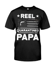 Fishing Reel quarantined Papa shirt Classic T-Shirt tile