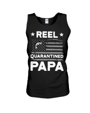 Fishing Reel quarantined Papa shirt Unisex Tank thumbnail