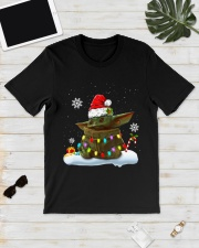 Baby Yoda Merry Christmas shirt Classic T-Shirt lifestyle-mens-crewneck-front-17