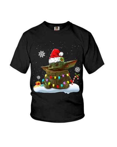 Baby Yoda Merry Christmas shirt