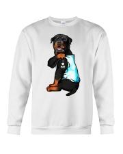 Rottweiler tattoo I Love Mom shirt Crewneck Sweatshirt thumbnail