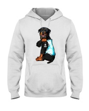 Rottweiler tattoo I Love Mom shirt Hooded Sweatshirt thumbnail