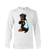 Rottweiler tattoo I Love Mom shirt Long Sleeve Tee thumbnail