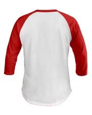 Red Christmas Gnome God Jul shirt Baseball Tee back