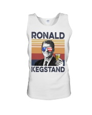 Ronald Kegstand Drink Independence day vintage  Unisex Tank thumbnail