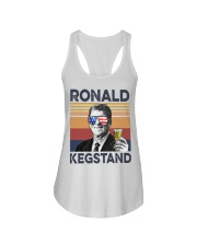 Ronald Kegstand Drink Independence day vintage  Ladies Flowy Tank thumbnail