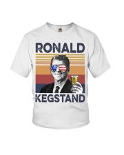 Ronald Kegstand Drink Independence day vintage  Youth T-Shirt thumbnail
