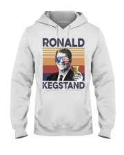 Ronald Kegstand Drink Independence day vintage  Hooded Sweatshirt thumbnail