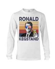 Ronald Kegstand Drink Independence day vintage  Long Sleeve Tee thumbnail