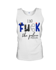 I do fuck the police policewife shirt Unisex Tank thumbnail