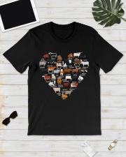 Cows Breed Heart shirt Classic T-Shirt lifestyle-mens-crewneck-front-17