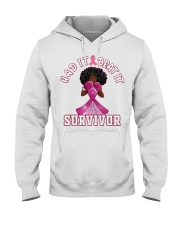 Black girl Strong Had it beat it survivor shirt Hooded Sweatshirt thumbnail