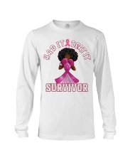 Black girl Strong Had it beat it survivor shirt Long Sleeve Tee thumbnail