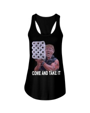 Come and Take it Trump Toilet paper shirt Ladies Flowy Tank thumbnail