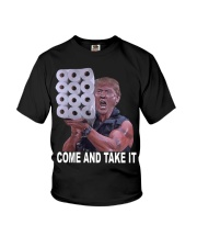 Come and Take it Trump Toilet paper shirt Youth T-Shirt thumbnail