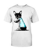 Chihuahua I love Mom shirts Classic T-Shirt front