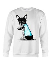 Chihuahua I love Mom shirts Crewneck Sweatshirt thumbnail