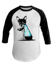 Chihuahua I love Mom shirts Baseball Tee thumbnail