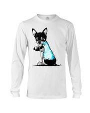 Chihuahua I love Mom shirts Long Sleeve Tee thumbnail