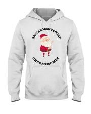 Santa Doesn't Count Chromosomes shirt Hooded Sweatshirt thumbnail