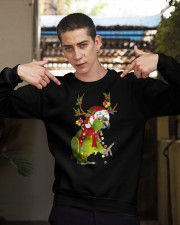 Parrot light Merry Christmas Crewneck Sweatshirt apparel-crewneck-sweatshirt-lifestyle-04