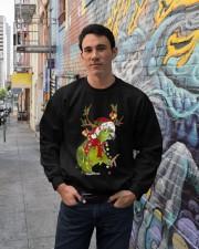 Parrot light Merry Christmas Crewneck Sweatshirt lifestyle-unisex-sweatshirt-front-2