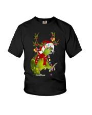 Parrot light Merry Christmas Youth T-Shirt thumbnail