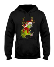 Parrot light Merry Christmas Hooded Sweatshirt thumbnail