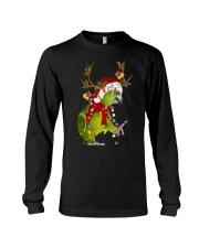Parrot light Merry Christmas Long Sleeve Tee thumbnail