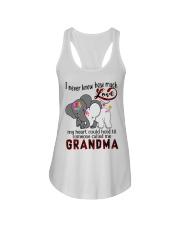 Elephant I never knew how much love grandma shirt Ladies Flowy Tank thumbnail