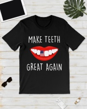 Make teeth great again shirt Classic T-Shirt lifestyle-mens-crewneck-front-17