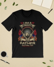 I am a veteran like MV Father before me shirt Classic T-Shirt lifestyle-mens-crewneck-front-19