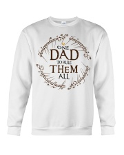 One dad to rule them all t-shirt Crewneck Sweatshirt thumbnail