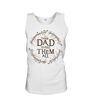 One dad to rule them all t-shirt Unisex Tank thumbnail