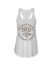 One dad to rule them all t-shirt Ladies Flowy Tank thumbnail