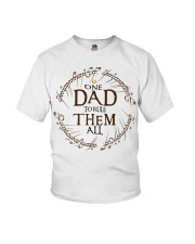 One dad to rule them all t-shirt Youth T-Shirt thumbnail