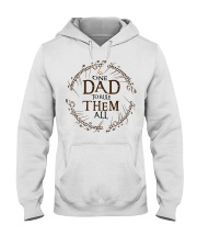 One dad to rule them all t-shirt Hooded Sweatshirt thumbnail