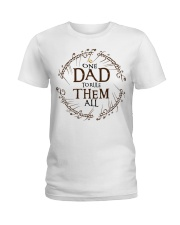 One dad to rule them all t-shirt Ladies T-Shirt thumbnail