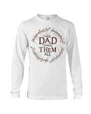 One dad to rule them all t-shirt Long Sleeve Tee thumbnail
