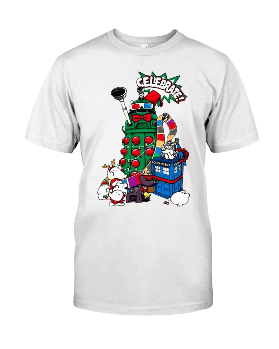 The Doctors Celebrate Christmas shirt Classic T-Shirt