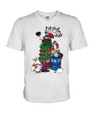 The Doctors Celebrate Christmas shirt V-Neck T-Shirt thumbnail