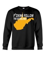 Fucking follow the guideline shirt Crewneck Sweatshirt thumbnail