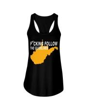 Fucking follow the guideline shirt Ladies Flowy Tank thumbnail